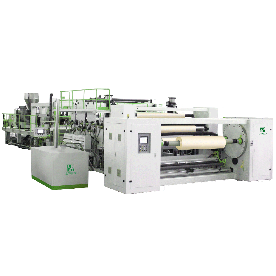 LCP casting bi-orented film production line
