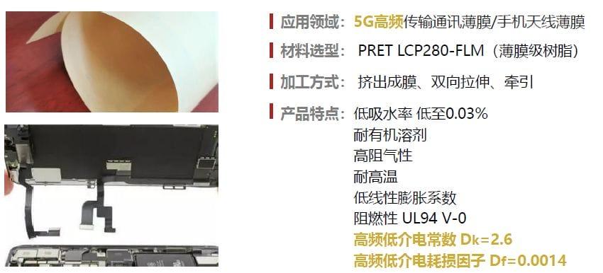 LCP薄膜在5G手機中應用
