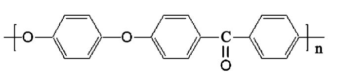 PEEK分子结构式