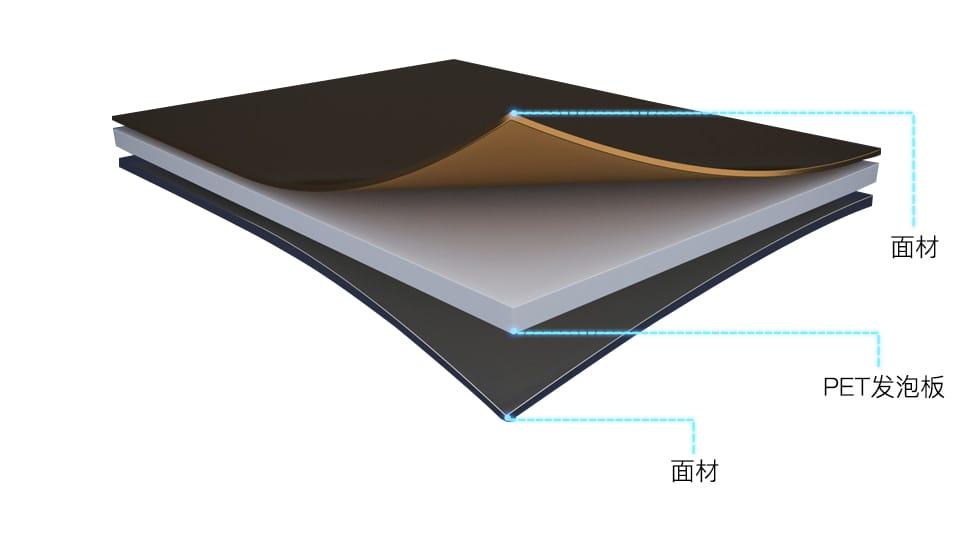 PET发泡板结构